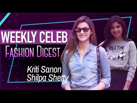 Shilpa Shetty, Malaika Arora and many others spotted in this Week's Fashion Digest