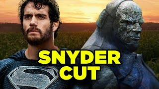 Justice League Snyder Cut Episodes Revealed! ALL CHANGES Explained!