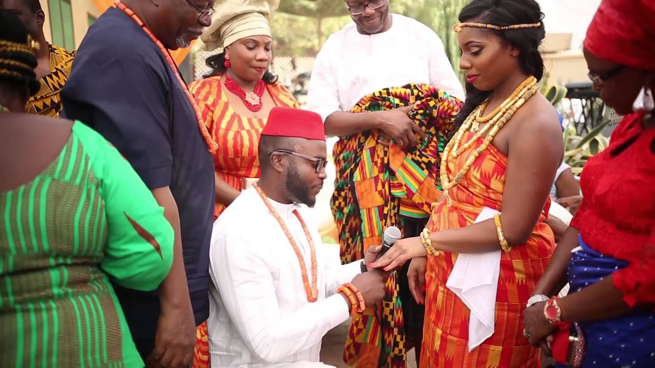 Ewurasi + Nnamdi , Traditional Marriage Ceremony