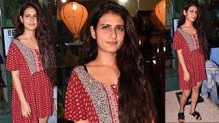 Aamir Khan's Dangal Daughter Fatima Sana Shaikh Spotted Outside A Salon