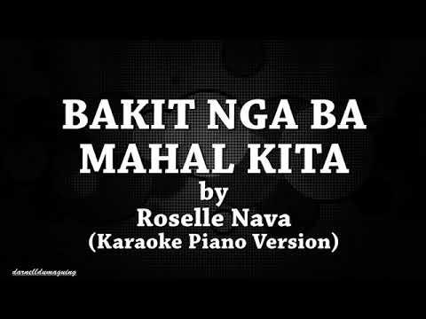 Bakit Nga Ba Mahal Kita By Roselle Nava
