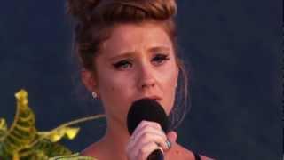 Ella Henderson performt I Won't Give Up by Jason Mraz    X Factor UK 2012
