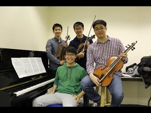 Duke University music alumni come together in NY to perform Schumann's Piano Quintet in E-flat Major