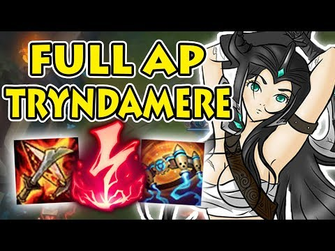This Build is NUTTY: Full AP Tryndamere Top vs Rammus [Patch 7.24B]