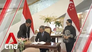 Singapore, Indonesia discuss new ways to boost bilateral cooperation
