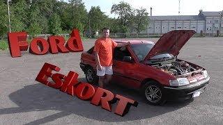видео Ford ESCORT-97г. С Восьмой КАТУШКОЙ и 83-им КАРБЮРАТОРОМ