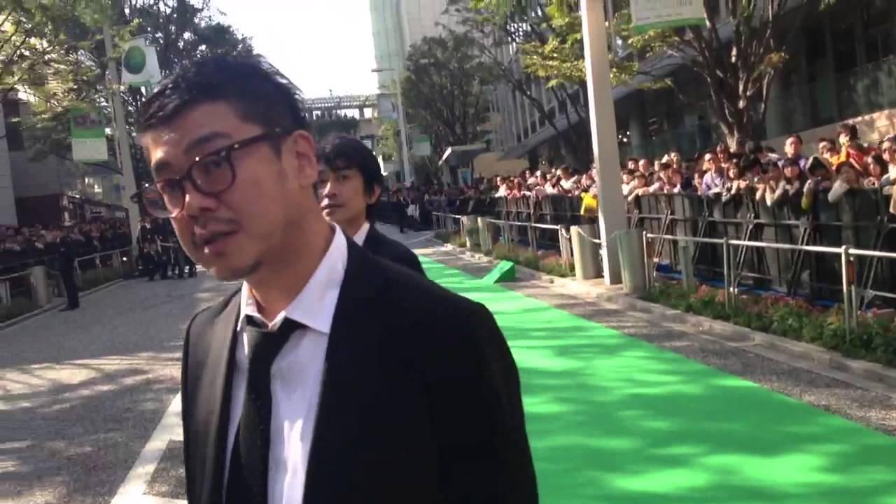 JAPAN IN A DAY 第25回東京国際映画祭のグリーンカーペットを歩いてみた #1
