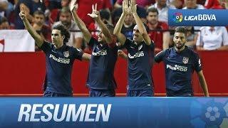 Resumen de Sevilla FC (0-3) Atlético de Madrid