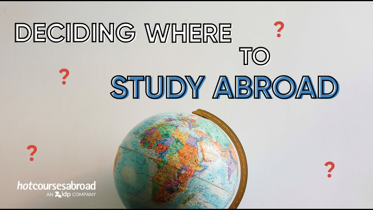How to plan your studies abroad with Hotcourses Abroad