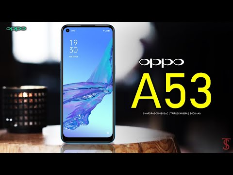Oppo A53 Price, Official Look, Design, Camera, Specifications, 5000mAh, Features