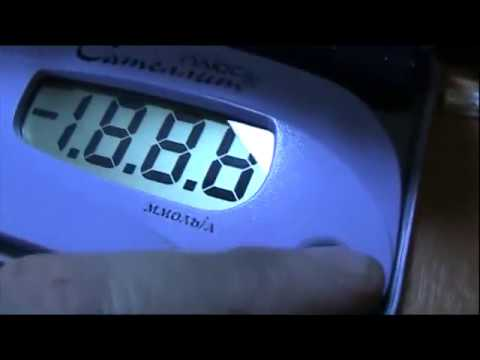 Глюкометр «Контур Плюс» - как провести измерение - YouTube
