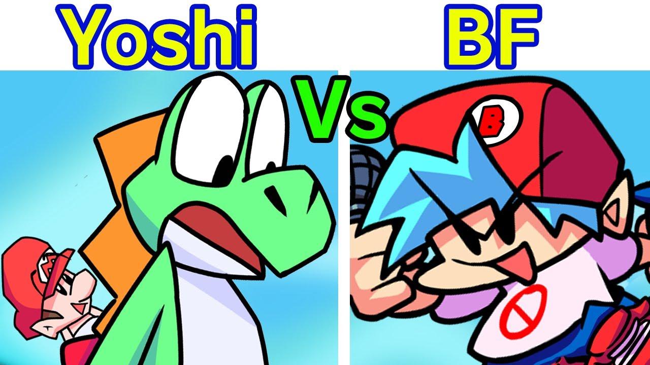 Friday Night Funkin' - VS Yoshi FULL WEEK + Cutscenes (Baby Mario) (Yoshi's Island) (FNF M