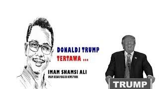 Donald Trump pun Terbahak-bahak, Shamsi Ali Imam Masjid Besar NEW YORK bag-5