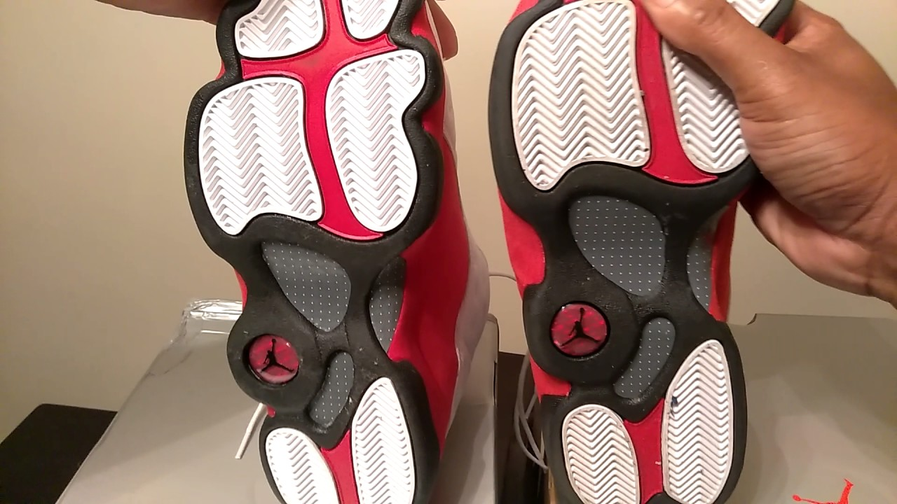 Air Jordan 13 Réelle Vs Faux
