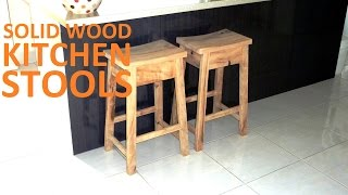 How to Make Kitchen Bar Stools