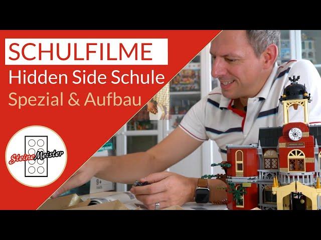Story: Die besten und lustigsten Schulfilme mit dem Aufbau der Schule Hidden Side (Audio optimal)