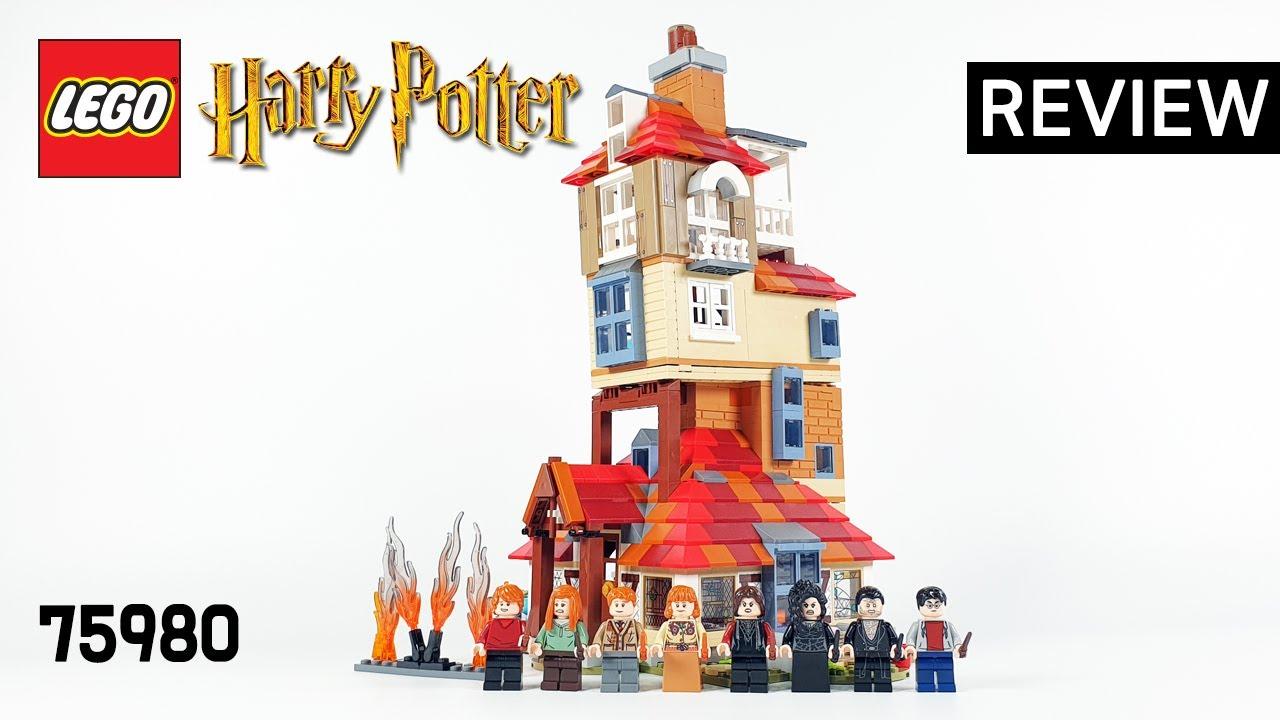 레고 해리포터 75980 버로우 공격(Harry Potter Attack on the Burrow) - 리뷰_Review_레고매니아_LEGO Mania