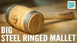 Big Steel Ringed Mallet