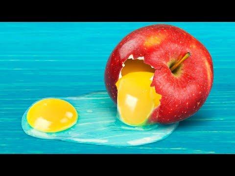 11 крутых экспериментов с едой