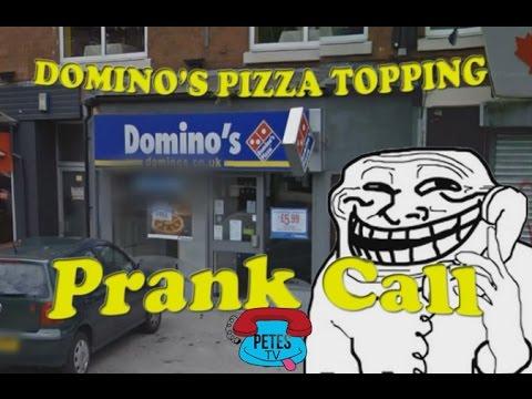 Hilarious Prank Call To UK Domino's Pizza