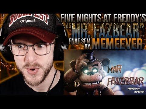 "Vapor Reacts #1096 | [SFM] OG FNAF SONG ANIMATION ""Mr. Fazbear"" By MemeEver REACTION!!"