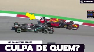 CULPA ou INCIDENTE de CORRIDA? | Análise do GP da ÁUSTRIA de FÓRMULA 1 (2020) 🏎🇦🇹🏆