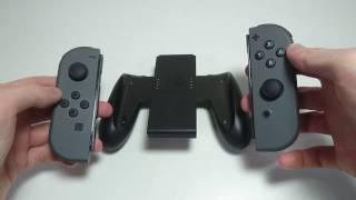 Nintendo Switch Joy Con Controller Grip How to Attach and Detach Joy Cons