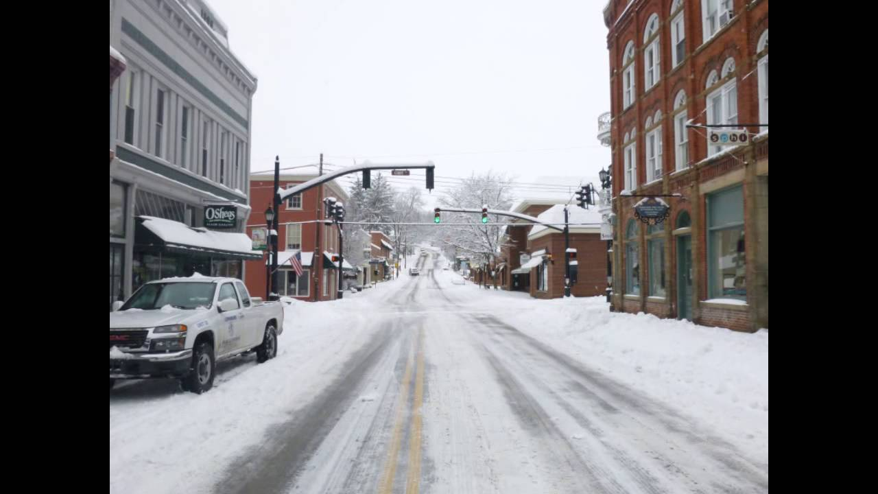 Lewisburg, WV Snow Feb 13, 2014 - YouTube