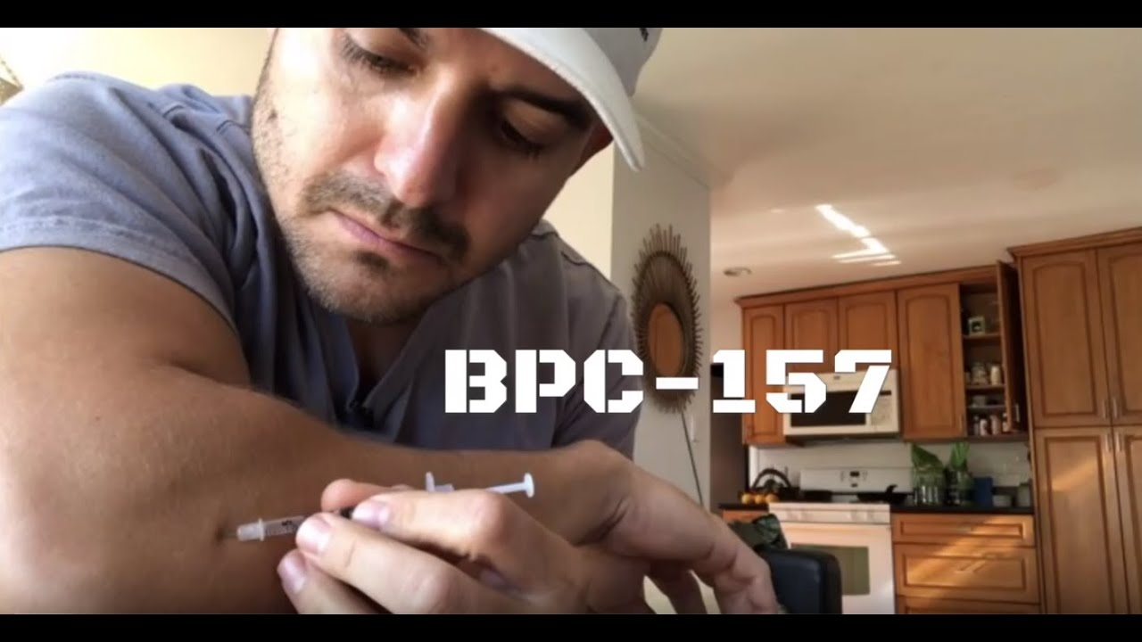 BPC-157 : injecting peptides to quickly heal nagging injuries