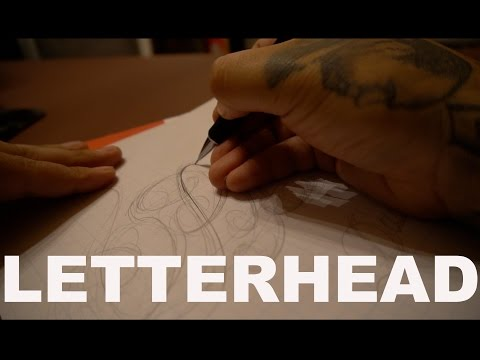 Tattoo Script Lettering for Beginners || Ep. 9