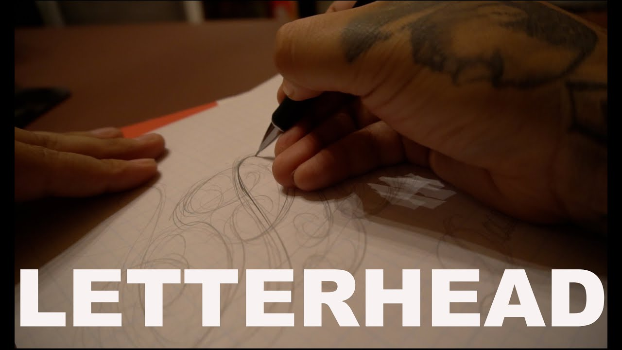Tattoo Script Lettering For Beginners Ep 9 Youtube