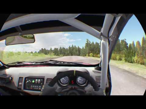Evo X Dirt Rally realidad virtual VR PS4
