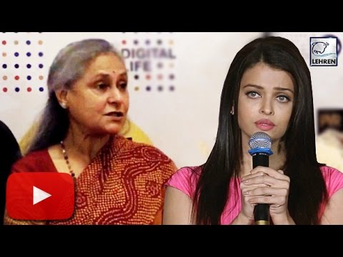 Aishwarya Rai INSULTED By Jaya Bachchan For Ae...