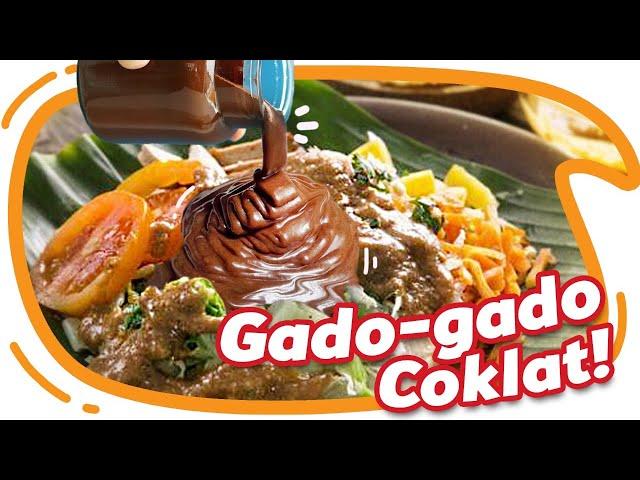 Gado - Gado Pake Cokelat Wkwkwkwk Enak Gak Ya? #EGY