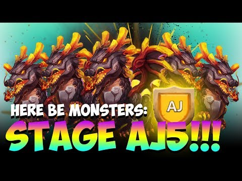 HBM:  AJ5 So Many Lavanicas LOL Castle Clash