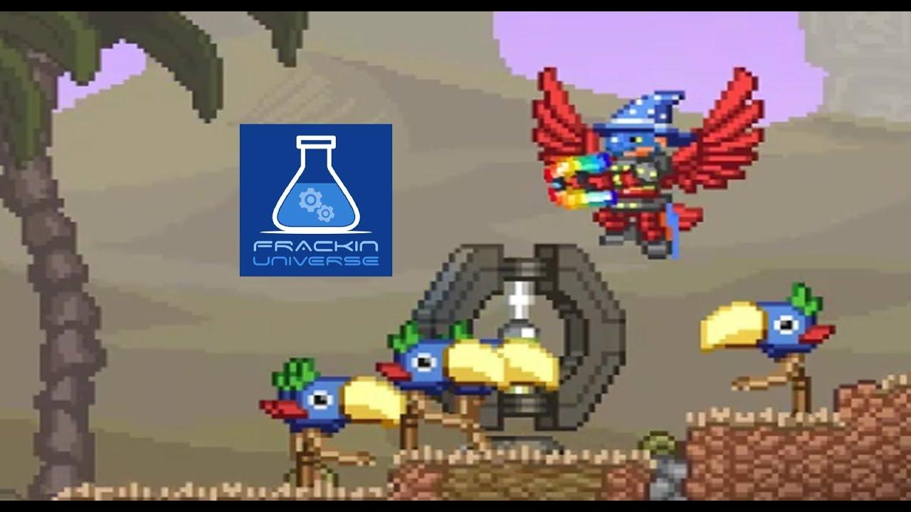 DESERT PLANETS REVISITED (+ Floran Desert Temple) - Starbound: Frackin  Universe Mod