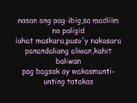 ikaw sarah geronimo with lyrics