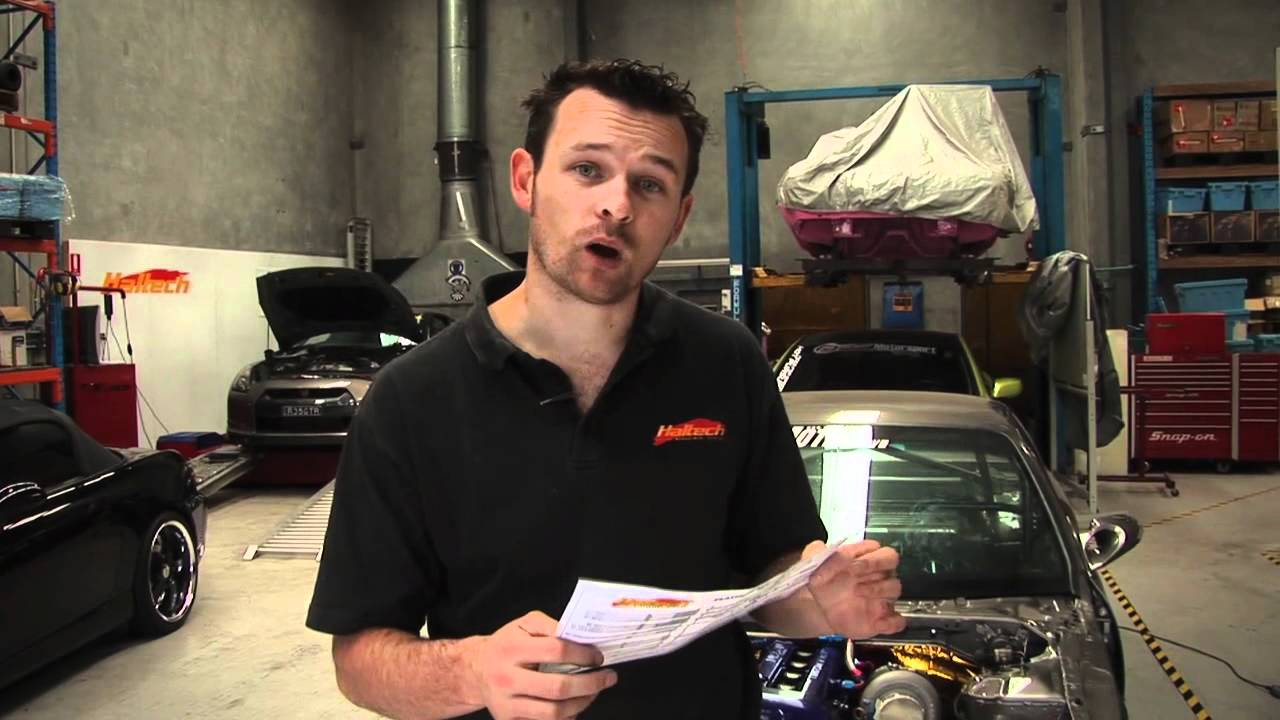 Haltech DIY: Wiring Up a Platinum Sport ECU. Part 1 on