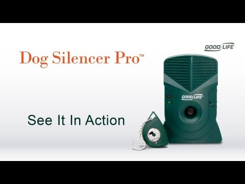 Watch the Dog Silencer Pro™ in Action