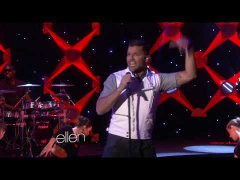 Ricky Martin -  Performs Come with Me - Ellen Show