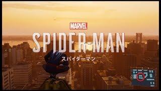 PS4 スパイダーマン フィスクのアジト 3人の敵に足場を当てる