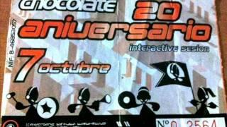 CHOCOLATE 20º Aniversario [2000] José Conca