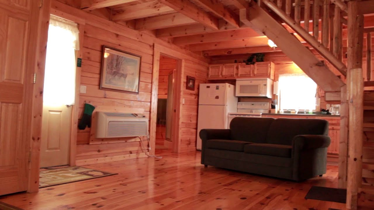 White Tail Foxtail Cabins Youtube