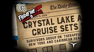 06.¡Nos vamos de crucero! (Friday the 13th Killer Puzzle) // Gameplay Español