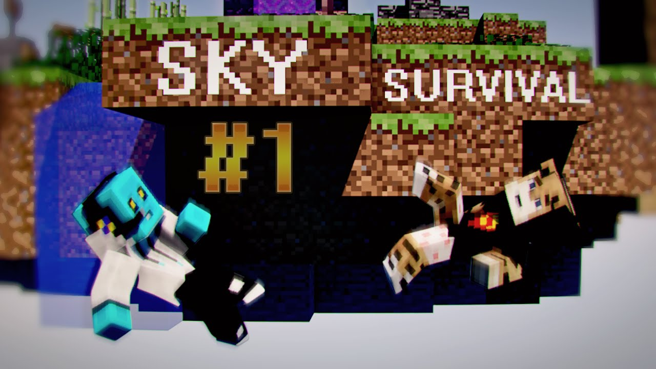 Minecraft Sky Survival Bölüm 1 Youtube