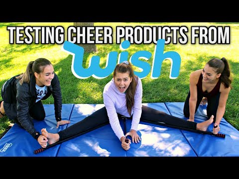 TESTING CHEER PRODUCTS FROM WISH!