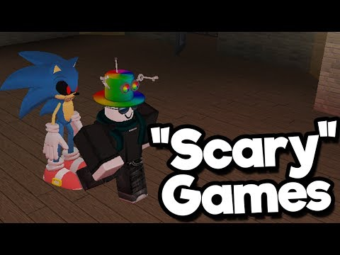 "Roblox ""Horror"" Games"