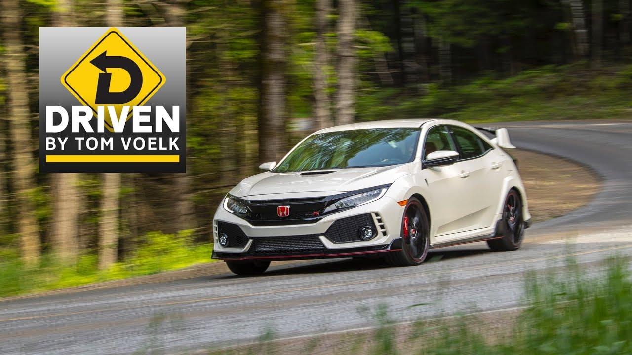 2018 Honda Civic Type R - YouTube on