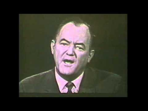 Humphrey Talks to Nation (LBJ 1964 Presidential campaign commercial) VTR 4568-20