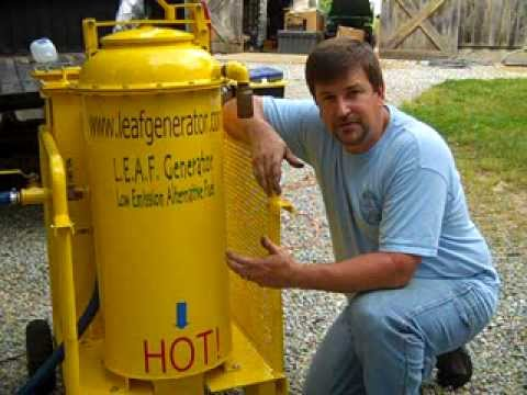 Wood Gas Generator >> The L.E.A.F. Wood Gasifier - YouTube